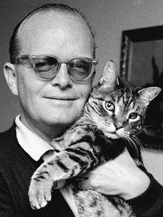 Famosos con mascotas - Truman Capote