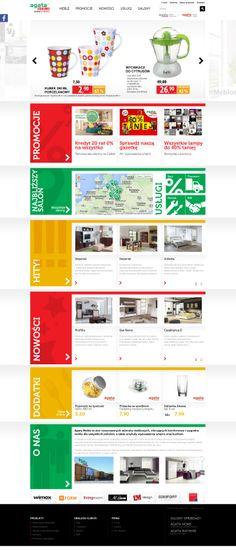 Agata Meble – www.agatameble.pl. Dla wielkiego dystrybutora mebli stworzyliśmy serwis RWD nawiązujący do najnowszych trendów web designu. I dołożyliśmy do niego masę funkcjonalności – m.in. intuicyjne filtracje produktów czy geolokalizację.