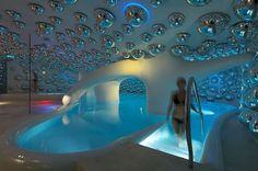 Underground spa pool!