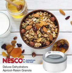 NESCO®: Roaster Ovens | Dehydrators | Small Appliances | Jerky Spices | Apricot-Raisin Granola