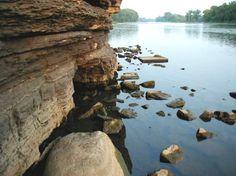 Kankakee River State Park near Bourbonnais