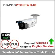 274.90$  Know more - http://ail21.worlditems.win/all/product.php?id=32803973798 - Hikvision Original English Version DS-2CD2T85FWD-I8 8MP Network Bullet IP security Camera POE SD card 80m IR H.265+