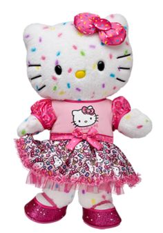 Win a Build-a-Bear Hello Kitty Plush 40th Anniversary Celebration Giveaway