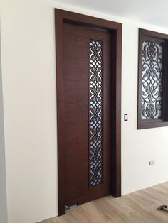 70 Super ideas for safety door design entrance Pooja Room Door Design, Bedroom Door Design, Door Design Interior, Interior Exterior, Interior Modern, Interior Doors, Wooden Front Door Design, Double Door Design, Flush Door Design