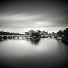 Ile de la cité et pont neuf by Damien Vassart