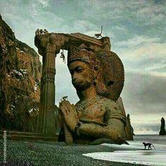 Shri Ganesh, Hanuman Chalisa, Arte Shiva, Arte Krishna, Relaxation Pour Dormir, Barris, Hanuman Images, Hanuman Photos, Lord Hanuman Wallpapers