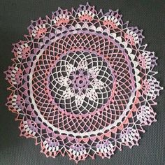 My mother taught me how to crochet with thread when I was very young. She has passed...every time I make a piece, I feel close to her...especially these vintage style doilies.