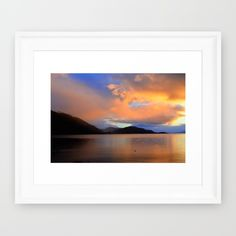Buy Sunset Framed Art Print by haroulita. Worldwide shipping available at Society6.com. Just one of millions of high quality products available.