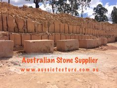 Aussietecture natural stone supplier has a unique range natural stone products for walling, flooring & landscaping. Sandstone Cladding, Natural Stone Cladding, Sandstone Paving, Natural Stone Wall, Natural Stones, Stone Supplier, Wall Cladding, Logs, Exterior Design