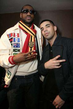 lebron and Drake