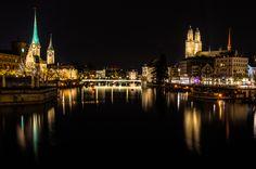 Zurich este unul dintre cele mai frumoase orașe din Elveția!