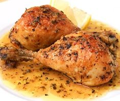 Pollo Aglio Al Forno - Comida - Pork Tacos, Cooking Recipes, Healthy Recipes, I Foods, Mexican Food Recipes, Entrees, Chicken Recipes, Easy Meals, Healthy Eating
