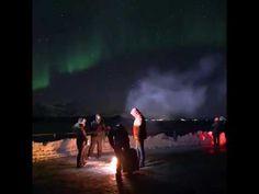 Apoyo Docente Ecuador  Aurora boreal