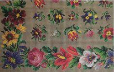 Beautiful Berlin WoolWork Floral Border & Corner Patterns & Small Floral Motifs