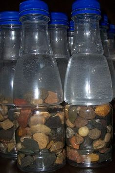 Bottle of Rocks Project