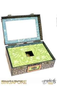 Nature Sketchbook Box&Notebook&ATC, Tutorial by Alexandra Morein, Product by Graphic 45, Photo 6
