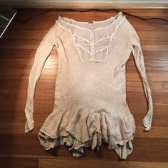 Free people sweater blouse All my prices are up for debate. Better pictures can be provided if asked. Free People Tops Blouses