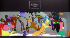 Le Bon Marché – Brazil visual merchandising by Pedro Varela, Paris Visual Merchandising, 3d Landscape, Rainbow Birthday Party, Event Branding, Vans Off The Wall, Perfume, Retail Design, Store Design, Classroom Decor
