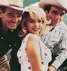 The Misfits: Clark Gable, Marilyn Monroe, Montgomery Clift