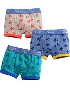 Vaenait Baby 2T-7T Kids Boys Underwear Boxer Briefs 3-Pack Set Boxer Star