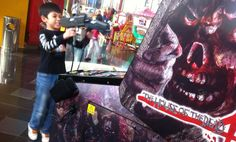 House of Dead 4 so cool... #timezone