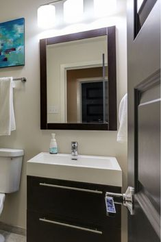 Bathroom mirror ideas #bathroomideas #mirrorideas #lighting #homedecor #design