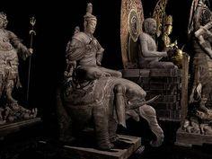 【手のひらに仏像】最新のAR技術で東寺「立体曼荼羅」の中に... Buddha, Chie, Greek, Statue, Comics, Logo, Mandalas, Logos, Cartoons