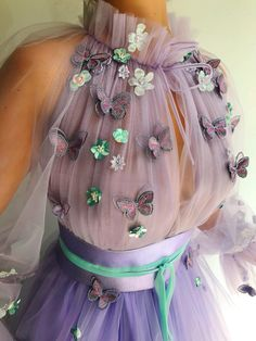 Ball Gown Dresses, Tulle Dress, Evening Dresses, Girls Dresses, Flower Girl Dresses, Prom Dresses, Pretty Dresses, Beautiful Dresses, Lavender Dresses
