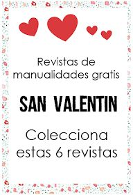 Revistas de manualidades san valentin - Revistas de manualidades gratis Saints, Valentines