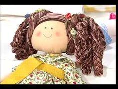 Boneca de Algodão VIVI PRADO - Programa Vida Plena (15/04/2014) - YouTube