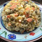Polnischer+Gemüsesalat+-+vegetarisch+mit+Mayo