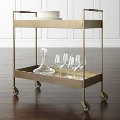 Unlimited flat-fee furniture delivery, easy online ordering and financing options.  Our functional, sophisticated Libations bar cart is a customer favorite.