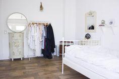 Helles Schlafzimmer mit süßem Einrichtungsstil. #WG in #Offenbach direkt beim Hbf // 5min Bahn nach #Frankfurt #Sachsenhausen