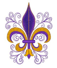 fleur de lis applique template - Google Search