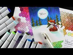 Choosing Copic Colors ft Hex Chart, Newtons Nook - Sandy Allnock