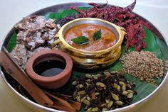The spicy #Coorg cuisine