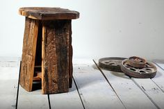 Rustica Upcycled Stool