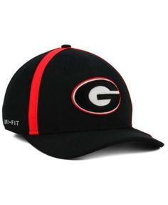40c3f7ef578c3 Nike Georgia Bulldogs Aerobill Classic Sideline Swoosh Flex Cap & Reviews -  Sports Fan Shop By Lids - Men - Macy's. Branded CapsGeorgia ...