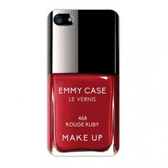Coque rigide vernis rouge ruby pour iPhone 5 / 5S