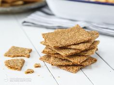 I love any excuse to make bite-sized party nibbles and the holiday season is the perfect time for them. Party snacks don't have to be unhealthy and fattening and these crispy keto crackers are great for nibbling. You can eat them on their own and they are even better with low-carb dips and sauces such as cheesy bacon dip, ...