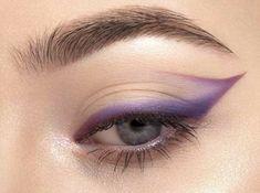 Edgy Makeup, Makeup Eye Looks, Eye Makeup Art, Cute Makeup, Makeup Goals, Pretty Makeup, Makeup Inspo, Eyeshadow Makeup, Makeup Inspiration