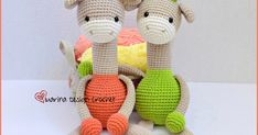 FREE PATTERN  Hello amigurumi lovers ...  I share this cute giraffe's pattern with you in English  I would like to thank @marina_dedign_cr...