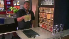 The Spice rack in the cooking show Everyday Exotic.....I want that!!