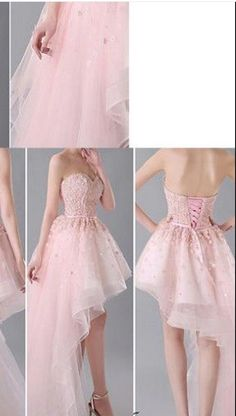 Charming party Dress,Hi-Low Prom Dress,Tulle Homecoming Dress,Short party Dama Dresses, Hoco Dresses, Tulle Prom Dress, Pretty Dresses, Homecoming Dresses, Sexy Dresses, Beautiful Dresses, Evening Dresses, Party Dress