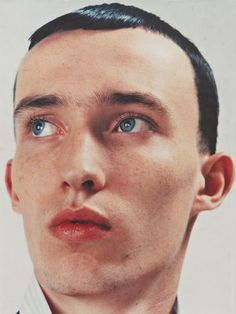 """Isolated Heroes"" Raf Simons (2000), photographed by David Sims"