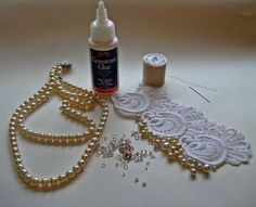 DIY Lace Cuff Tutorial wedding