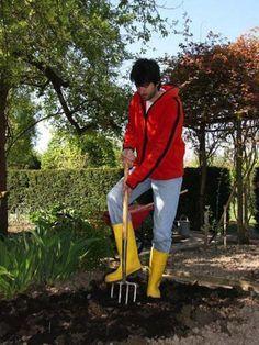 Diy Cobblestone Path | Gartenideen | Pinterest Bodenverbesserung Garten Mittel Tipps