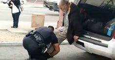 """A Phoenix resident filmed the heartwarming moment a local police officer gave a homeless man a new pair of shoes and shared it on YouTube for the world to see. """"That just shows exactly how much our officers serve Phoenix and help the community and also protecting the community,"""" the man recording, Raymond Celaya, says... View Article"""