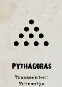 The Pythagorean cult remains mysterious, but amongst other beliefs, they thought numbers and geometric shapes were somehow windows to a higher existence. The Tetractys became an object of worship since the number 10 is the perfect in being made up of the sum of the first four integers, as shown in the shape.
