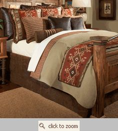 like d western bed room decor native american indian - Native American Decor